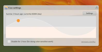 ブルーライト軽減アプリ「f.lux」を試す。