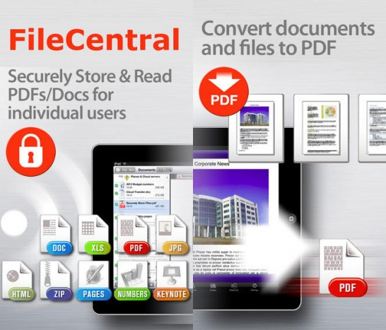 【無料セールアプリ】FileCentral for iPhone(5/9UP)#iphone #app #pdf